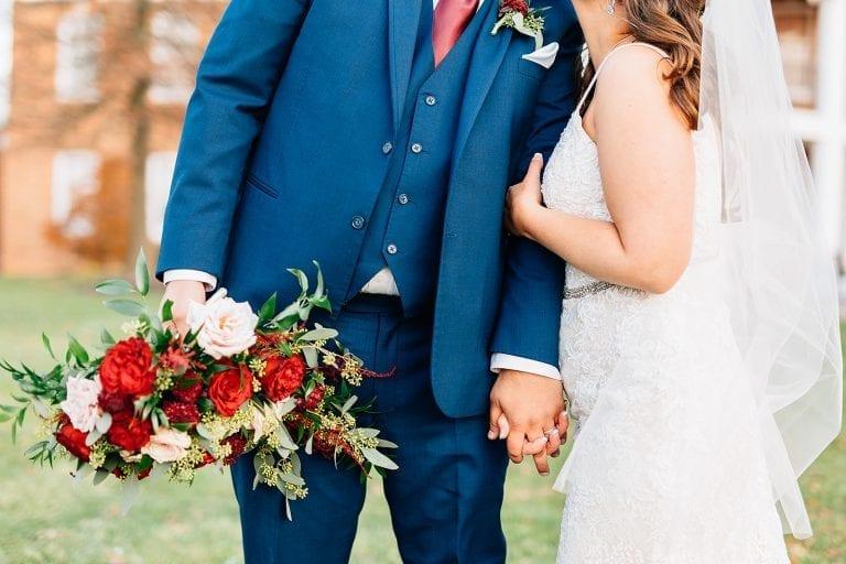 Frederick Maryland Fall Wedding Holly Hills Country Club 10